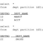 Avoiding Oracle Disk Contention by Using Partitions