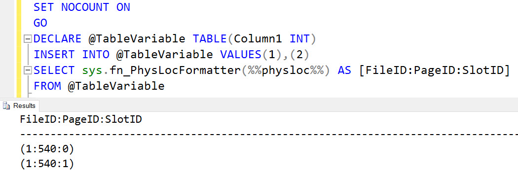 3 Important Facts for Developers About the SQL Server Table Variable