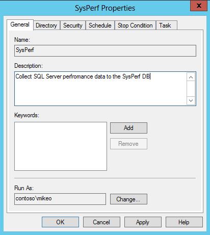 Change data collector run OTey