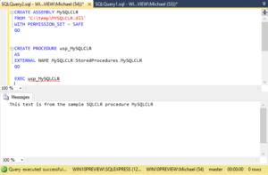 MySQL CLR