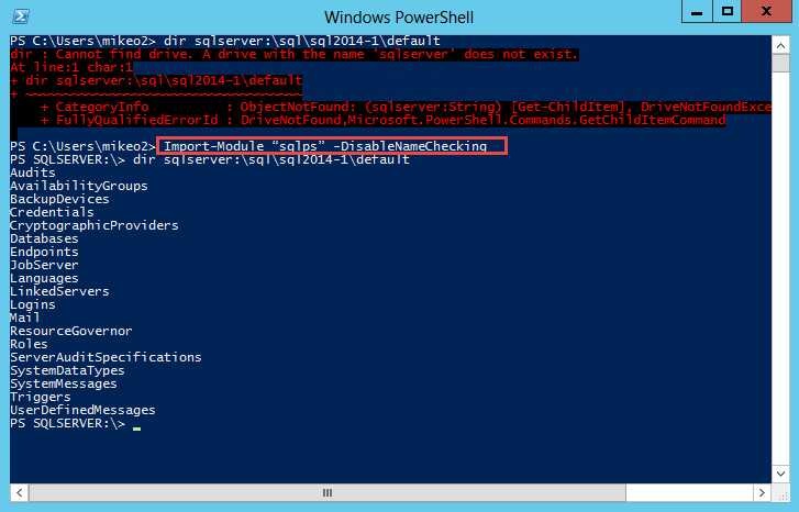 Managing SQL Server with PowerShell: Part 1 - The Tools