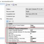 Database Scoped Configurations got even better with SQL Server 2016