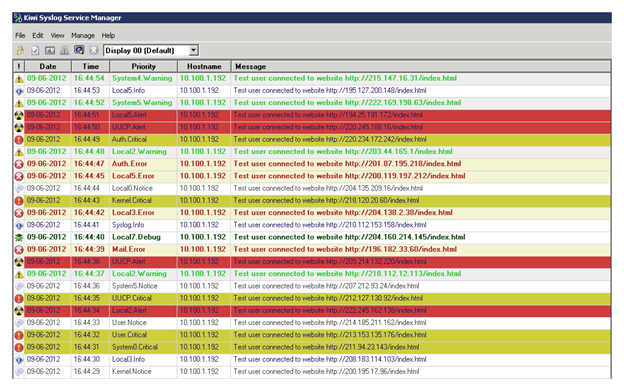 SolarWinds Kiwi Syslog Server